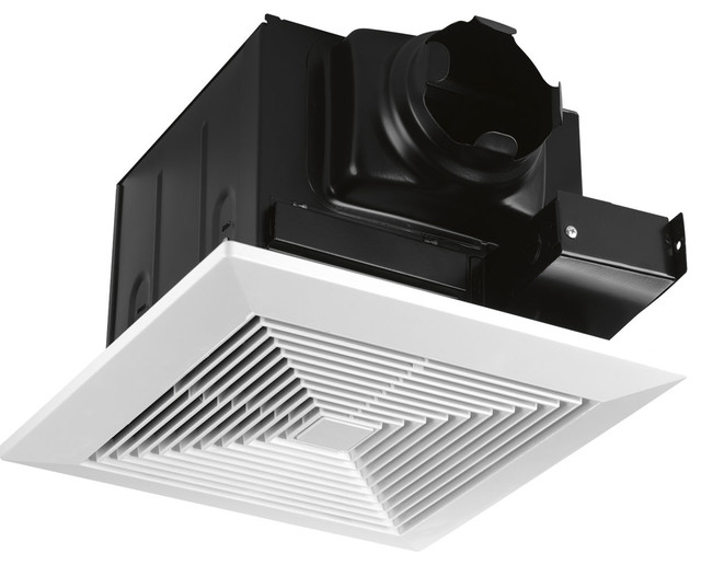 Progress Lighting Bath Fan 80cfm Energy Star, White.