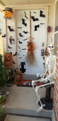 Houzz Users Share Their Outdoor Halloween Decorations