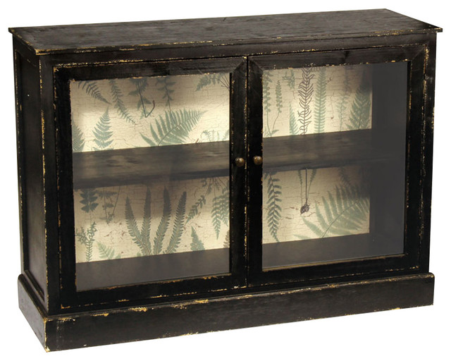 Hotel Duvaleix Fern Cabinet - Rustic - Accent Chests And ...