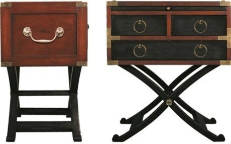 Marvelous Authentic Models Furniture Bombay Box 15.7L X 26H File Cabinet  Traditional Side Tables