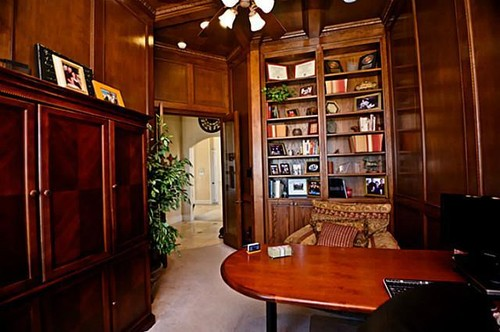 Fine Painting Dark Cherry Wood Library Paneling Largest Home Design Picture Inspirations Pitcheantrous