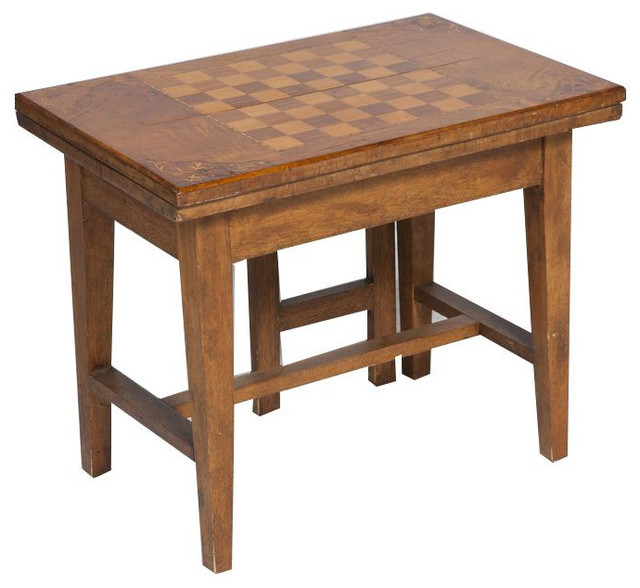 Lovely Antique Flip Top Game Table   $1,500 Est. Retail   $399 On Chairish.com