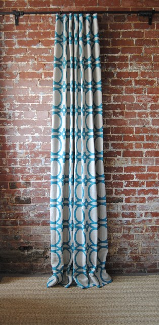 Patterned Drapes / Curtains - Modern - Other - by Martha and Ash