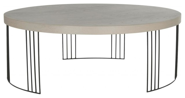 black coffee table transitional - photo #23