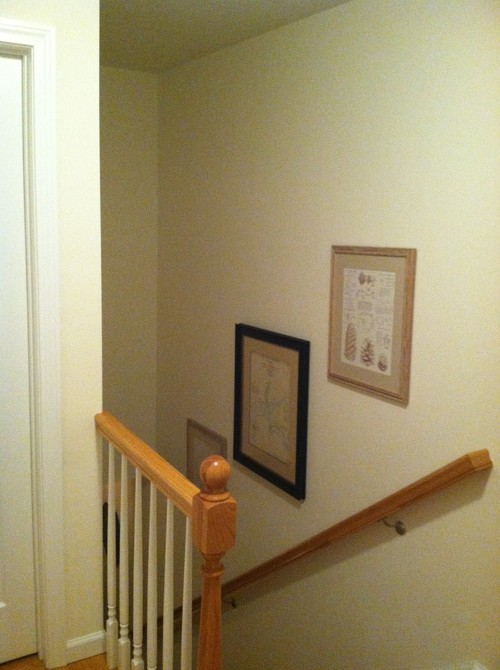 How To Hang A Picture Over Stairs Photos Freezer And Stair Iyashix