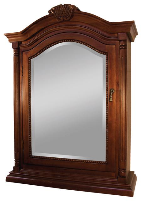 Wingate Rich Cherry Bathroom Medicine Cabinet - Victorian - Medicine Cabinets - by Burroughs ...