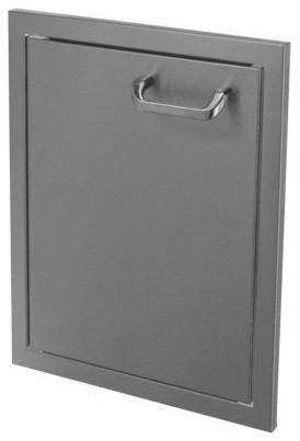 Hasty-Bake 17 Stainless Steel Deluxe Single Access Door (17sd-Dlx).