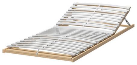 SULTAN LERBÄCK Slatted bed base, adjustable