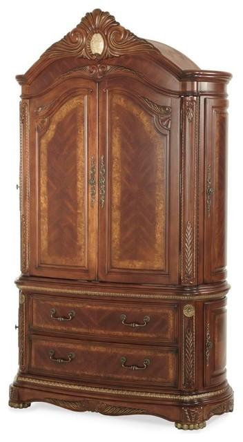 Aico Michael Amini Cortina Armoire Victorian Armoires And Wardrobes