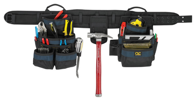 Clc Work Gear 4-Piece 20 Pocket Carpenters Tool Belt Combo