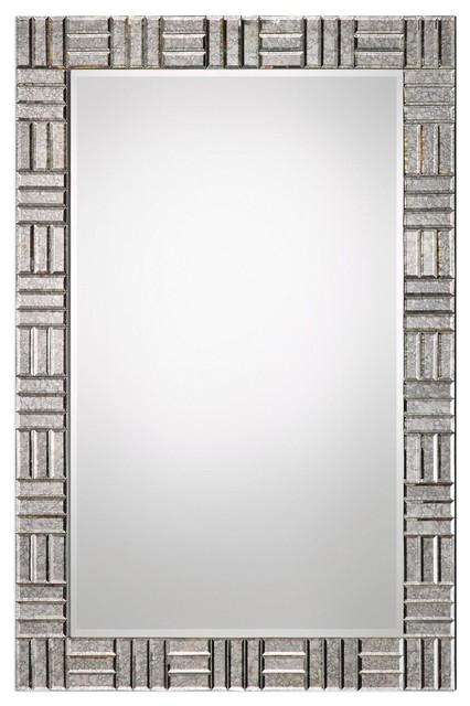 Patiri Antiqued Beveled Wall Mirror.