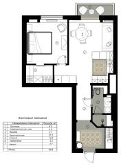 Поиск планировки Квартира для тишины  три плана и финал (11 photos)