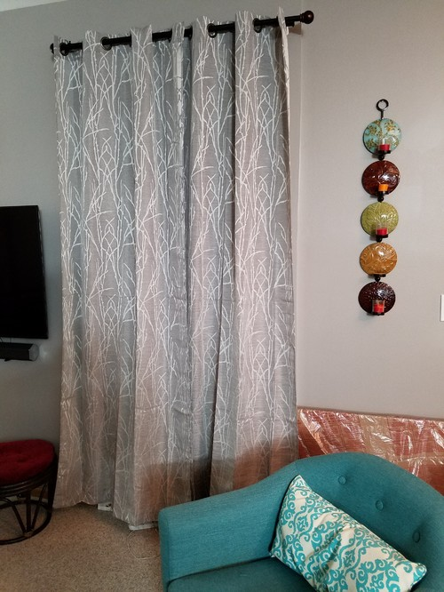 Gray curtain color on gray wall - Curtain color for gray walls ...