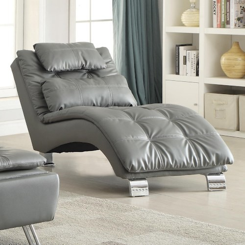 Dilleston Casual Living Room Chaise, Contemporary.