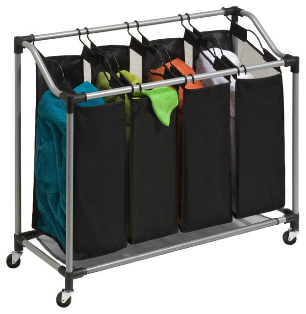 Steel Elite Quad Sorter, Silver/black.