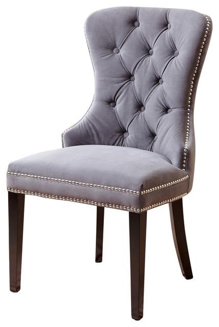 Abbyson Living Miiko Tufted Velvet Dining Chair