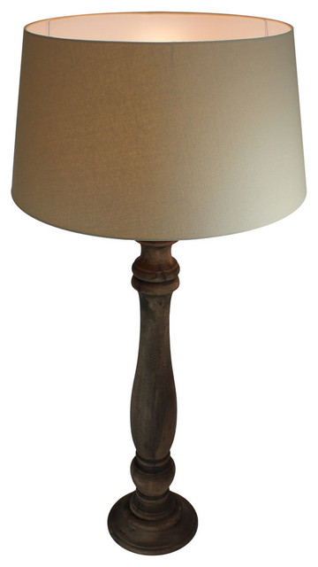 3-Piece Ceramic Lamp Set, Floor And Table Lamps, Black Finish