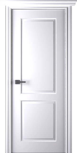 Arazzinni Alta Interior Door White Transitional Doors By And Beyond