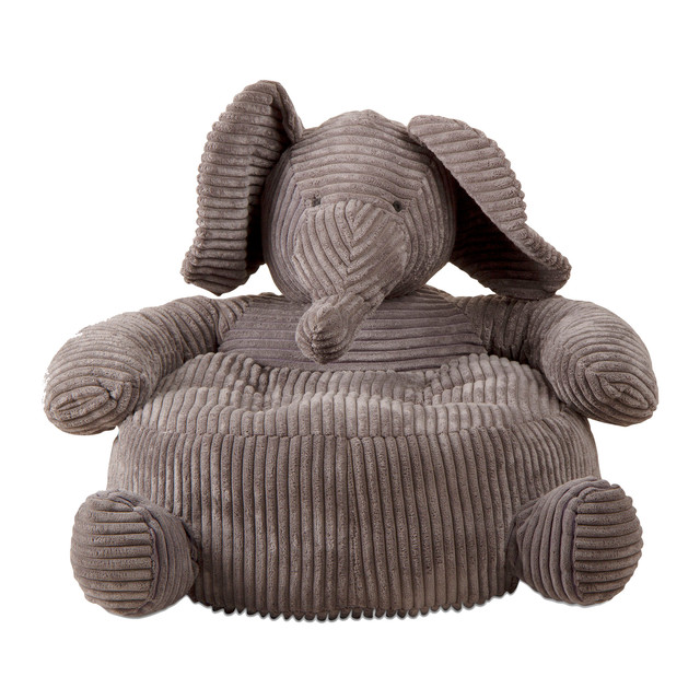 TAG Elephant Corduroy Plush Chair Contemporary Kids Chairs
