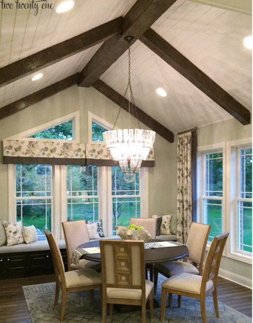 sloped ceiling room ideas - What size windows 10 Cathedral Ceiling
