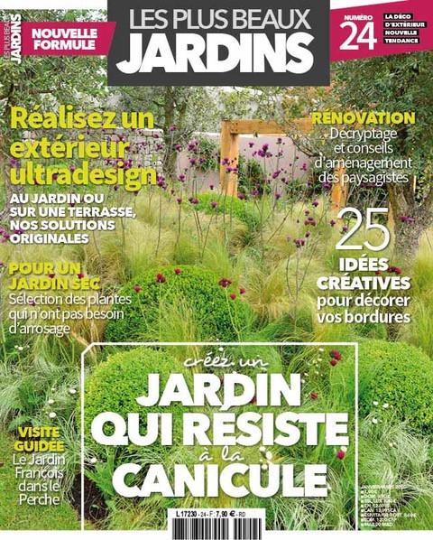 Parution presse Janvier 2020 dans Les Plus Beaux Jardins