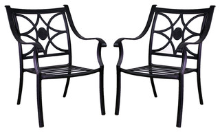 vista dining chair no cushion traditional outdoor dining chairs