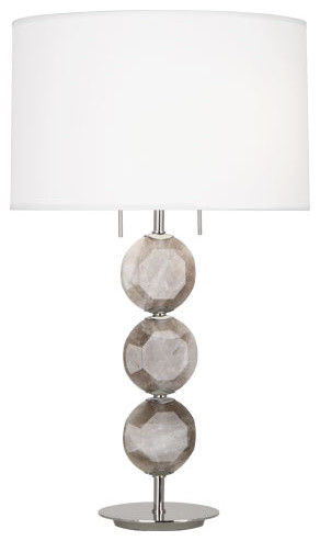 Robert Abbey Hope Table Lamp Rock Crystal Traditional Table