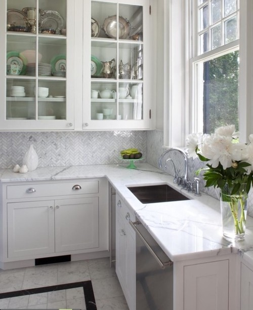 Input from owners of marble kitchen counters for Porcelain countertops cost