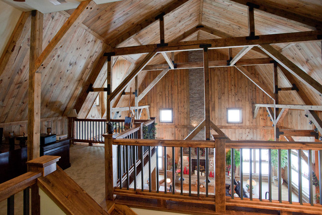 Iowa Gambrel Barn Home Traditional