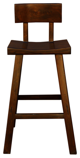 Fabulous Quality Handmade Wood Dark Brown Color Tall A Shape Bar Stool With Back Hwk2170 Onthecornerstone Fun Painted Chair Ideas Images Onthecornerstoneorg