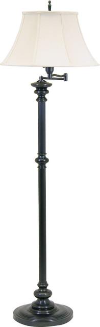 House Of Troy N604-Ob Newport Oil Rubbed Bronze Floor Lamp.