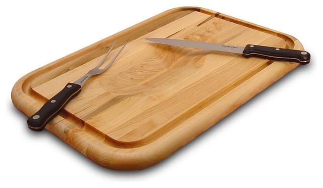 catskill craftsmen medium reversible wood cutting board with, Kitchen design