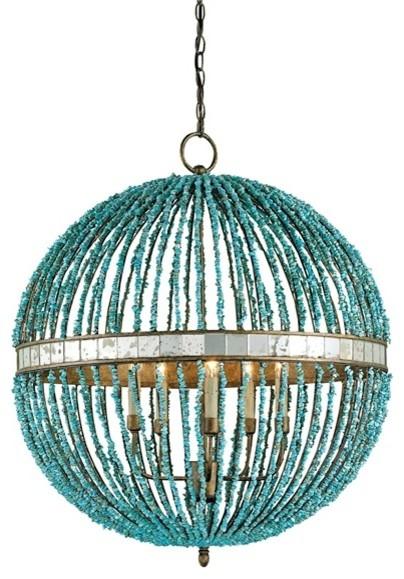 Currey u0026 Company Alberto Orb Chandelier contemporary-chandeliers