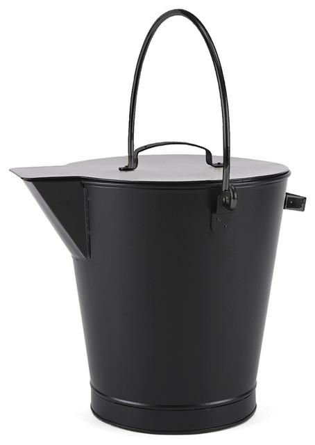 All Black Ash Bucket