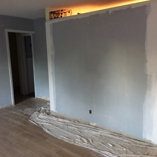 paint color for north facing living room with different