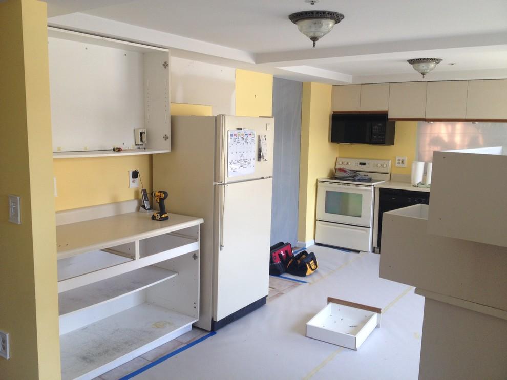North Andover Condo Kitchen Remodel.