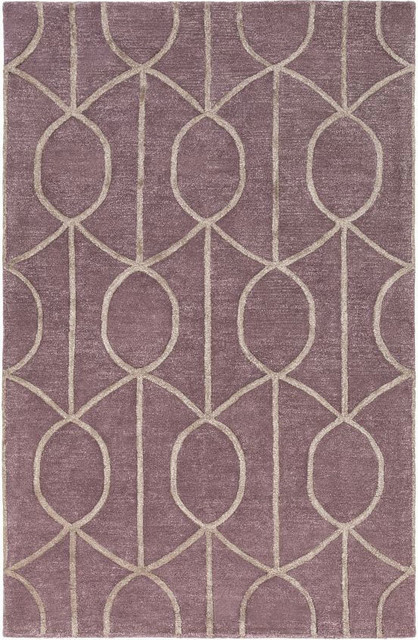 Artistic weavers artistic weavers urban marie purple rug for Purple area rugs contemporary
