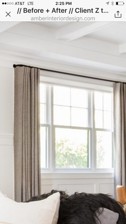 black to brushed curtain rod for curtains chenduo me rods windows