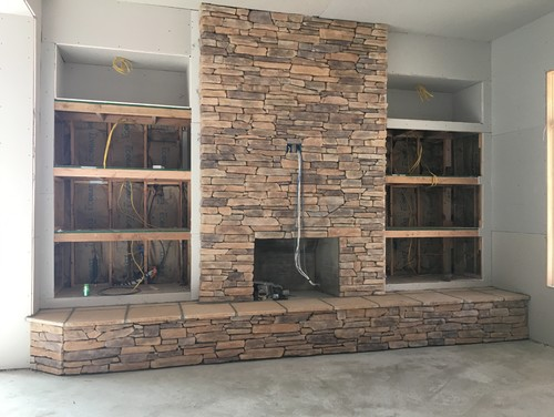 Fireplace Shelves New Build Help