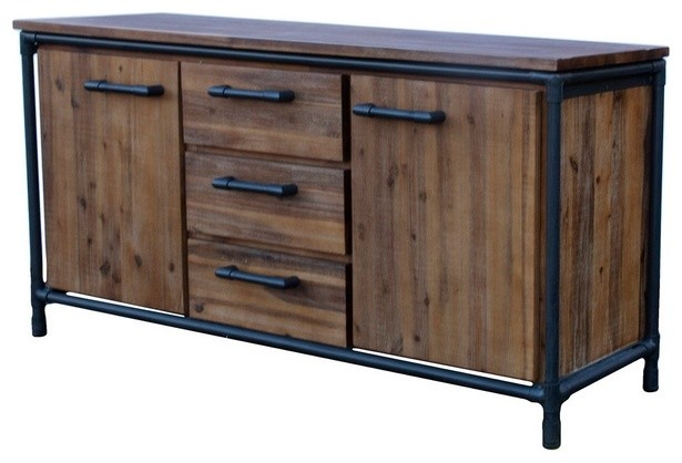 Acacia Sideboard - Rustic - Buffets And Sideboards - by