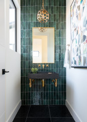 New This Week: 8 Bold Powder Rooms