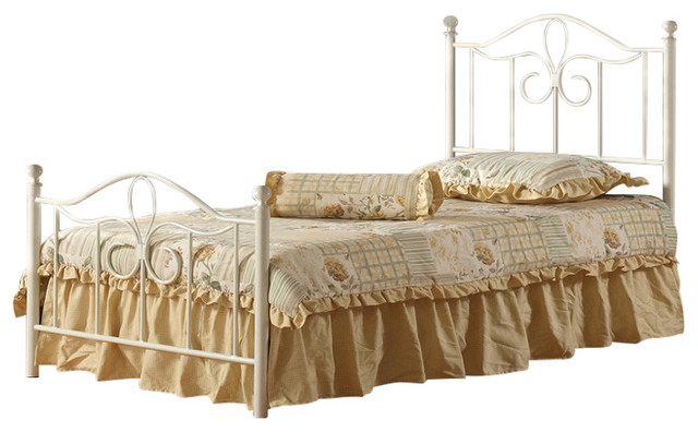 Westfield Metal Bed Set, With Rails, Full.