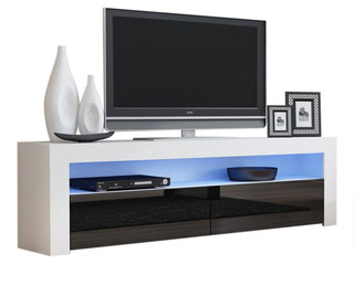 Tv Stand Milano Classic White Body Modern 65 Quot Tv Stand Led