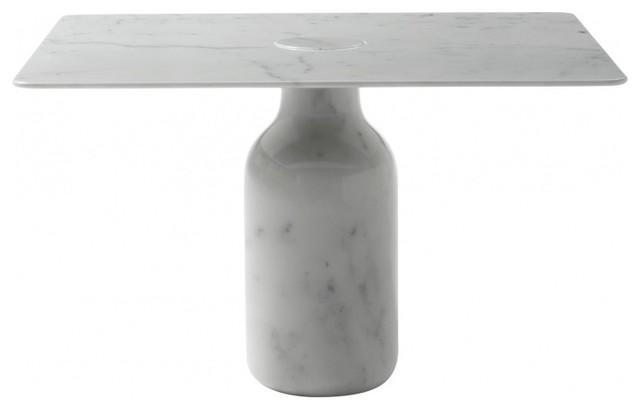 Bottle marmortisch quadratisch modern dining tables for Marmortisch modern