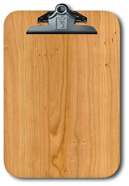 Note Catchers By Winwood Designs Cherry Wood Clipboard Beautiful And