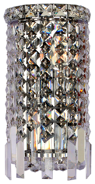 crystal wall sconces for candles ebay cascade light chrome finish sconce small contemporary candle holders