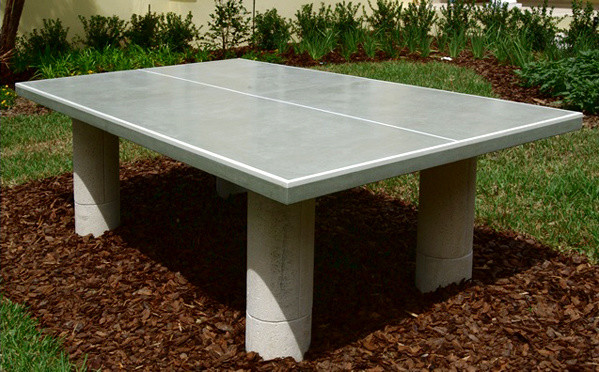 Concrete Ping Pong Table Diy Home Design Ideas