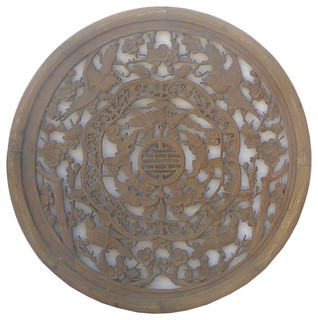 Asian Wooden Wall Art 5