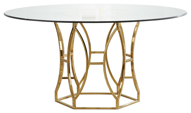 Pleasant Luna 60 Round Dining Table Gmtry Best Dining Table And Chair Ideas Images Gmtryco