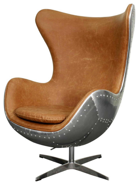 Ajax Swivel Rocker Chair - Midcentury - Armchairs And Accent Chairs ...
